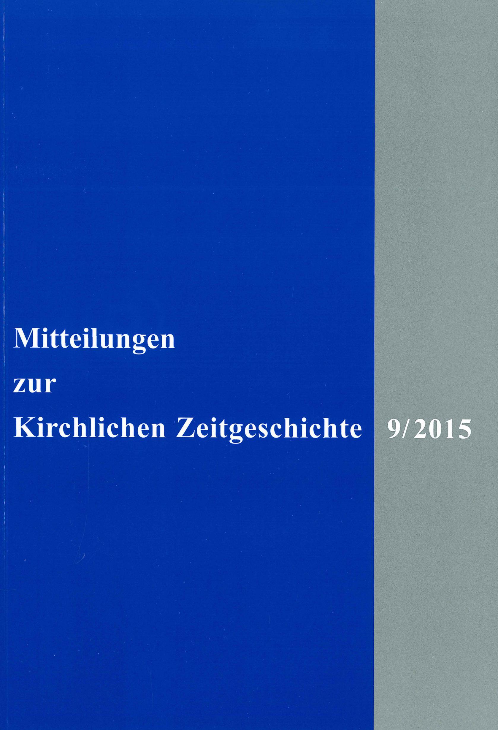 Ansehen Bd. 9 (2015)